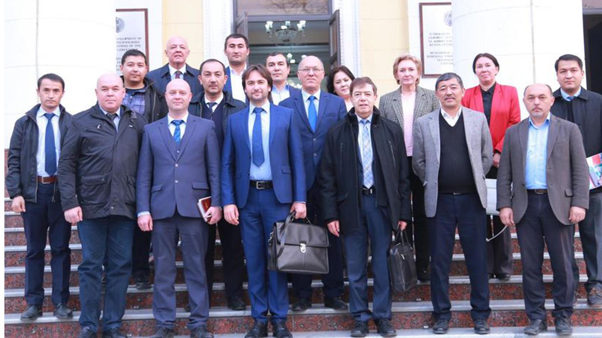 В ТУИТ состоялась встреча с участниками проекта «SPACECOM»